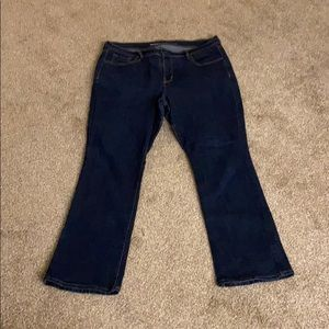 Old Navy curvy bootcut jeans - discontinued style
